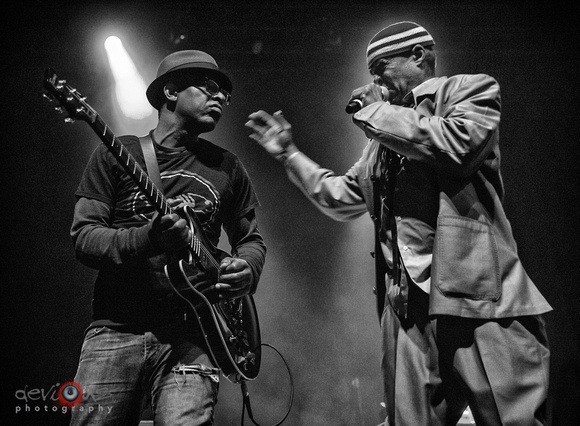 John Bigham and Angelo Moore of Fishbone