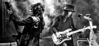 Nikki Sixx and Mick Mars