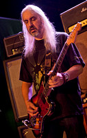 J Mascis, in front of his stack of Marshalls
