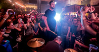 "Royal Blood playing ""Out of the Black"" in the crowd"