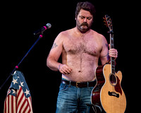 Nick Offerman, partial nudity promised, delivered