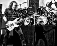 David Ellefson and Shawn Drover