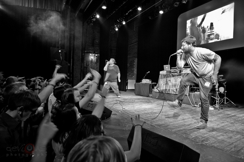 devious photography | Aesop Rock and Rob Sonic, 7/27/12