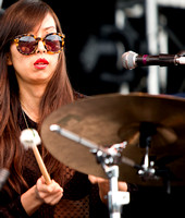 Sandy of the Dum Dum Girls