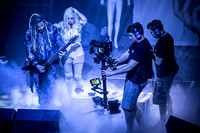 Maria Brink and Chris Howorth being filmed for the DVD shoot