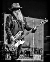 Dusty Hill of ZZ Top